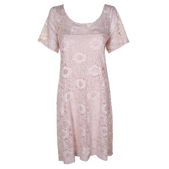 Signature By Robbie Bee Dresses Plus Size Pink Dress Poshmark